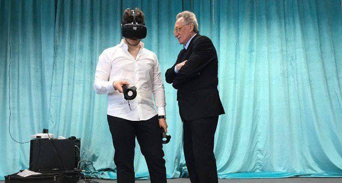 Realtà virtuale nella pratica terapeutica video dall'esperienza del Forum di Riccione