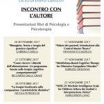 Incontro con l'autore: un ciclo di eventi di presentazione libri