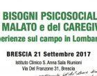 II Giornata Nazionale della Psiconcologia – 21 settembre 2017, Brescia