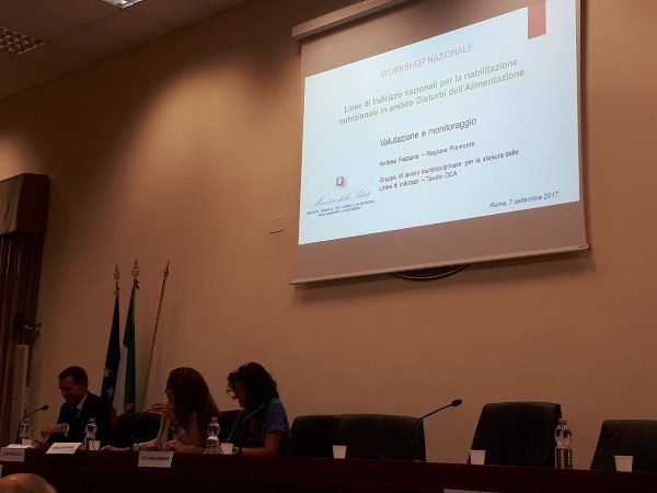 Linee guida per la riabilitazione dei Disturbi dell'alimentazione - Report dall'evento - IMM. 2