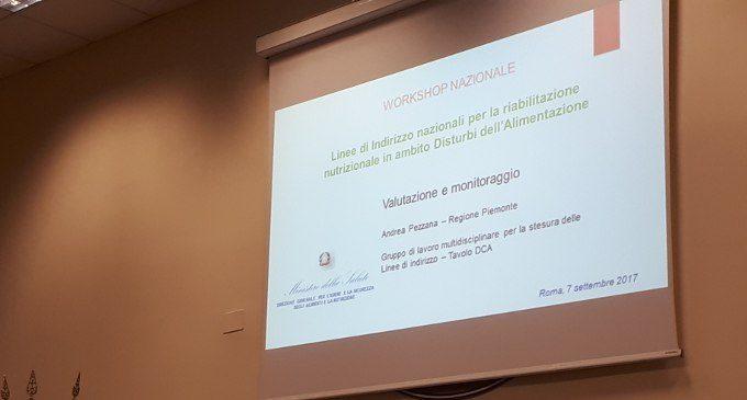 Presentazione delle Linee di indirizzo nazionali per la riabilitazione nutrizionale nei pazienti con Disturbi dell'alimentazione – Report dall'evento