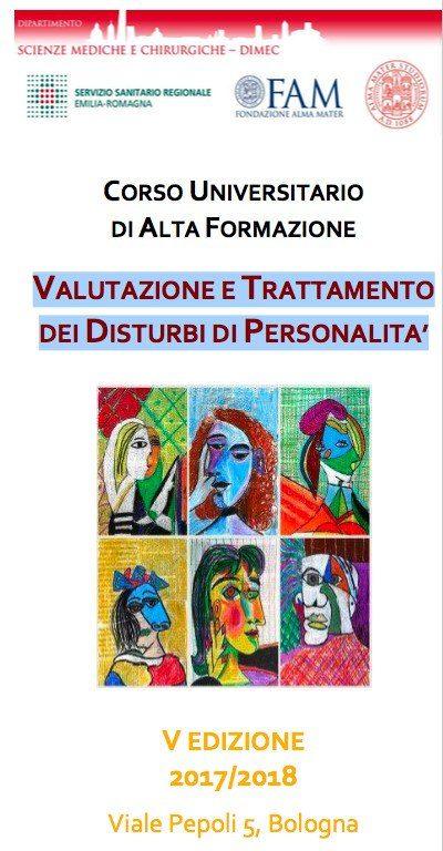 Valutazione e Trattamento dei Disturbi di Personalita 2018 - Corso universitario di Alta Formazione