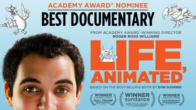 Life, Animated (2017) un film per provare aguardare il mondo con gli occhi di chi soffre di autismo – Recensione