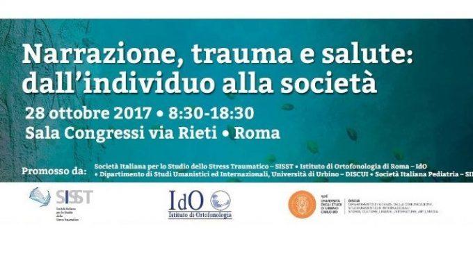 Trauma: la vera sfida è intercettare l'impatto. Il 28 ottobre un convegno a Roma apre al confronto internazionale – Comunicato StampaSISST