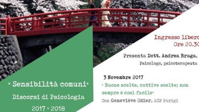 Sensibilità comuni: Discorsi di psicologia 2017-2018, ciclo di incontri a Varese