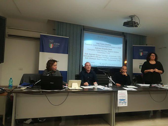 Psicologia dello sport: seminario a Palermo