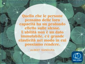 Albert Bandura - L'abilità non è immutabile