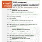 """""""Identity Report"""" - L'identità: concettualizzazioni teoriche a confronto, dati di ricerca, psicopatologia ed intervento clinico"""