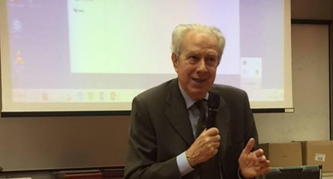 Festa in onore del Prof. Ezio Sanavio