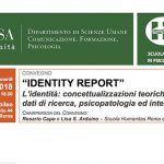 Identity Report- l'identità tra teoria, ricerca e psicopatologia - Report