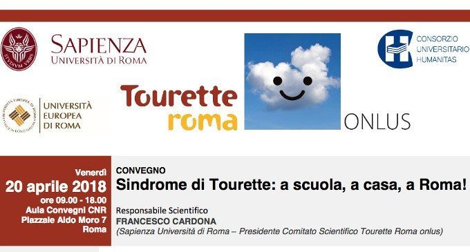 """I don't have Tourette, I have a cat in my head!"": la Sindrome di Tourette a casa, a scuola, a Roma! – Report dal Convegno"