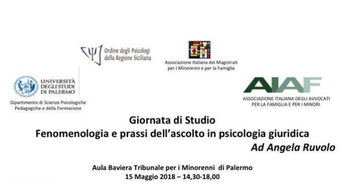 Fenomenologia e prassi dell'ascolto in psicologia giuridica – Report dal Convegno di Palermo