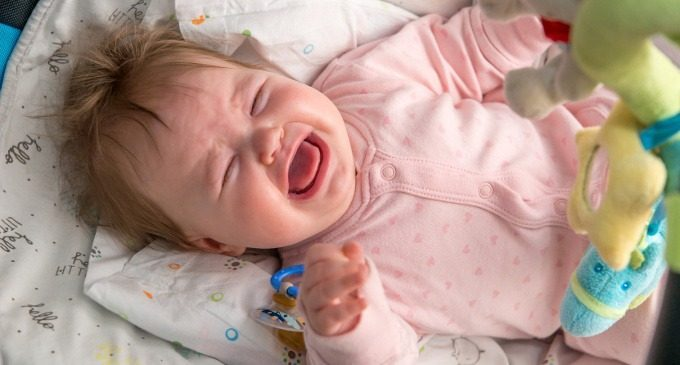 Pianto del bambino: fame, paura o rabbia?