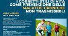 Gli stili di vita nella prevenzione delle malattie croniche – Report del convegno di Palermo, 16 giugno 2018