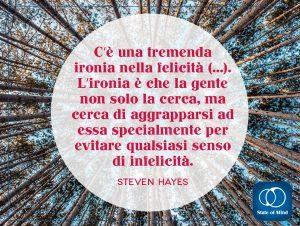 Steven Hayes - L' ironia nella felicità