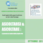 Ascoltarsi e Ascoltare: la persona al centro della propria vita - Modena, Ottobre 2018