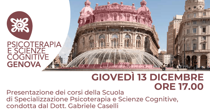 Presentazione della scuola Psicoterapia e Scienze Cognitive Genova