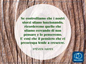 Steven Hayes - Il pensiero che ci preoccupa