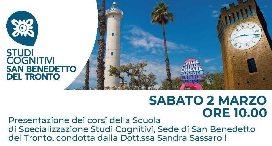 Presentazione della Scuola di Psicoterapia di San Benedetto del Tronto