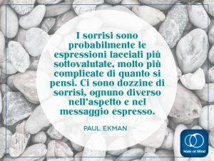 Paul Ekman - Ci sono dozzine di sorrisi