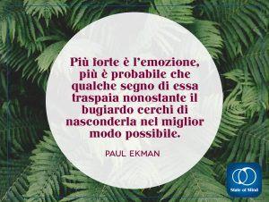 Paul Ekman - Emozione e bugia