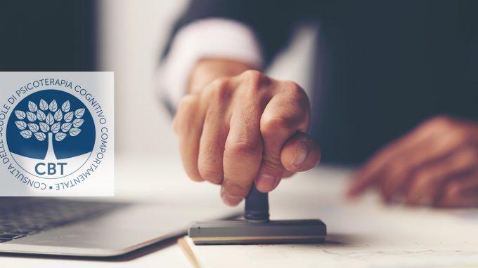 La Consulta delle Scuole di Psicoterapia Cognitivo Comportamentale si pronuncia su patentini e certificazioni