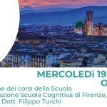 Scuola Cognitiva di Firenze: presentazione della Scuola di Psicoterapia – Firenze, 19 Giugno 2019