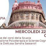 Psicoterapia e Scienze Cognitive Genova: presentazione della Scuola di Psicoterapia – 22 Maggio 2019