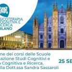 Studi Cognitivi Milano: presentazione della Scuola di Psicoterapia – Milano, 25 Settembre 2019