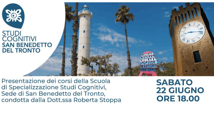 Presentazione della Scuola di Psicoterapia di San Benedetto del Tronto GIUGNO 2019