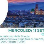 Scuola Cognitiva di Firenze: presentazione della Scuola di Psicoterapia – Firenze, 11 Settembre 2019