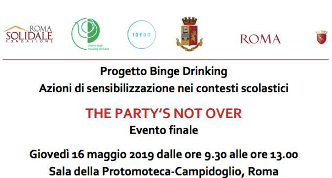 Binge Drinking Azioni di sensibilizzazione nei contesti scolastici - Roma