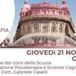 Psicoterapia e Scienze Cognitive Genova: presentazione della Scuola di Psicoterapia – 21 Novembre 2019
