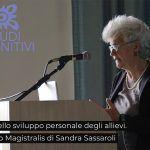 Lezione Magistrale - Dott.ssa Sandra Sassaroli LIBET nello sviluppo personale degli allievi