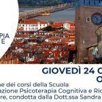 Psicoterapia Cognitiva e Ricerca di Mestre: presentazione della Scuola di Specializzazione in Psicoterapia – 24 Ottobre 2019