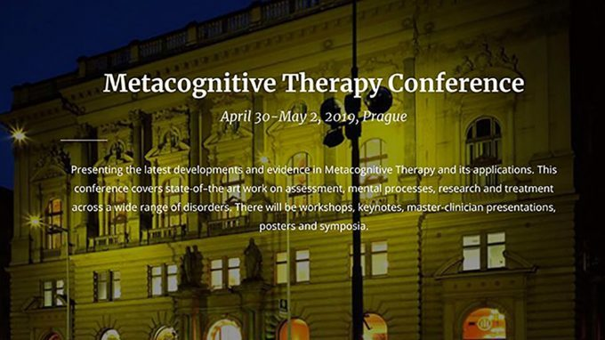 4th International Conference of Metacognitive Therapy – Prima giornata – La sessione Open Papers sulla Terapia Metacognitiva e le problematiche relazionali