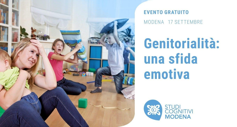 Genitorialita: una sfida emotiva - Studi Cognitivi Modena, Settembre 2019