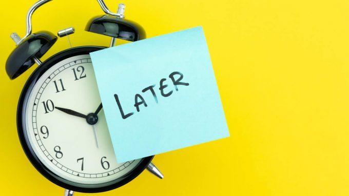 Perché procrastini? (…non ha nulla a che fare con l'autodisciplina o con la pigrizia!)