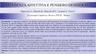 Dipendenza affettiva e pensiero desiderante – Riccione, 2019