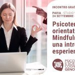 Psicoterapie orientate alla mindfulness: un'introduzione esperienziale - Pavia, 24 Settembre 2019