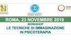 Le tecniche di immaginazione in Psicoterapia – Corso ECM a Roma, 23 Novembre 2019