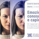 Emozioni: conoscerle e capirle - Prato, 23 Novembre 2019