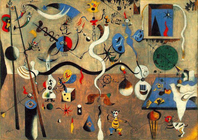 Joan Miro tragicita espressiva tra creativita e disturbi dell umore Arlecchino