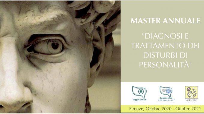Master annuale: diagnosi e trattamento dei disturbi di personalità – Firenze, Ottobre 2020