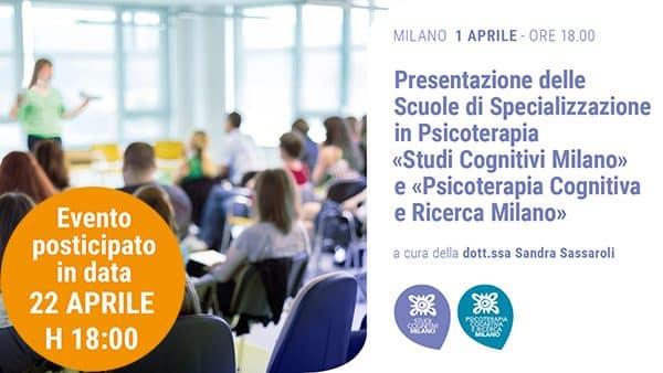 MILANO - 200422 - Presentazione Scuola - Banner