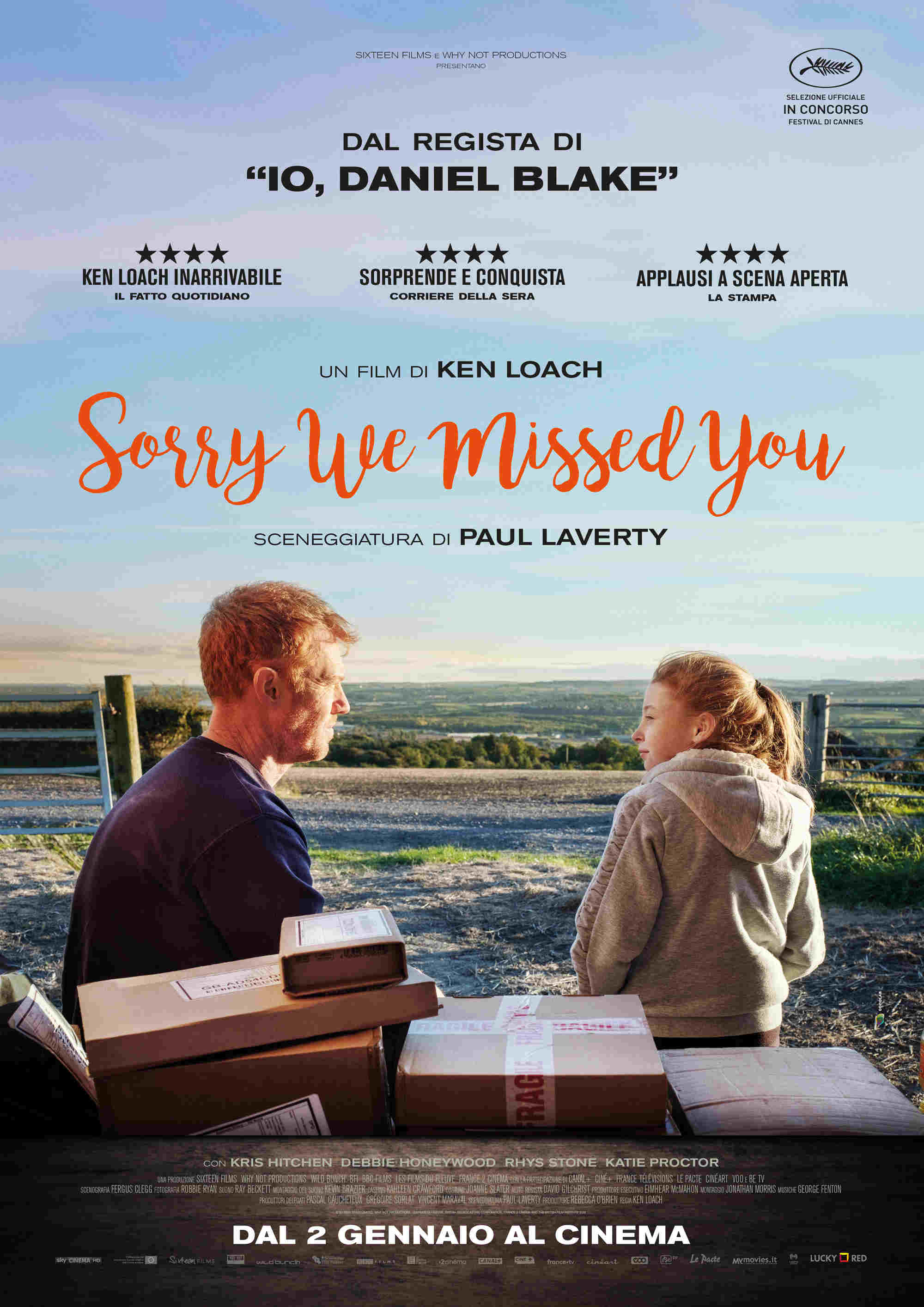 Sorry we missed you (2019) – Recensione del film