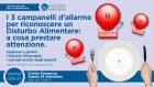 I 3 campanelli d'allarme per riconoscere un Disturbo Alimentare: a cosa prestare attenzione – WEBINAR, 26 Settembre 2020