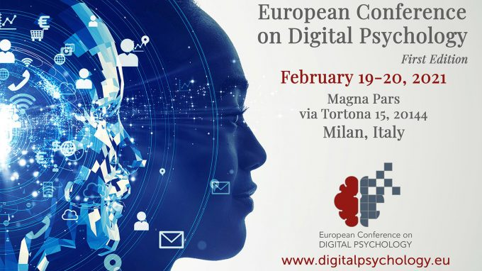 European Conference on Digital Psychology: iscrizioni aperte