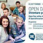 Presentazione della Scuola di Psicoterapia di Mestre & Open day - EVENTO IN DIRETTA STREAMING, 24 Settembre 2020