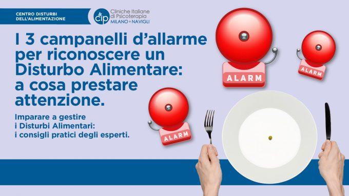 I 3 campanelli d'allarme per riconoscere un Disturbo Alimentare: a cosa prestare attenzione – VIDEO dall'incontro del CIP Milano